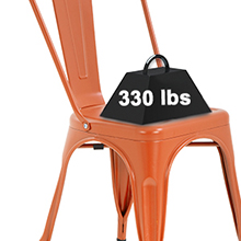 Metal chair stackable chair restaurant chairs7