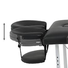 Massage Table Massage Bed Spa Bed 73 Inch - Face Cradle Adjustment