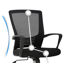 Office chair desk chair adjustable chair ergonomic task chair1