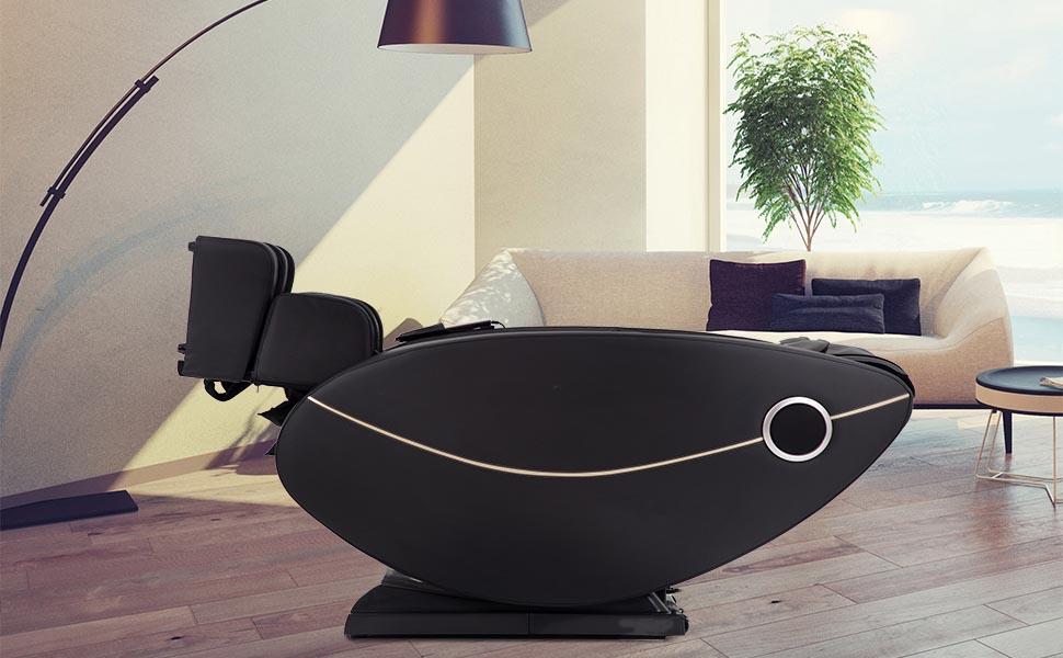 BestMassage Zero Gravity Full Body Electric Shiatsu Massage Chair Recliner  with Built-in Heat