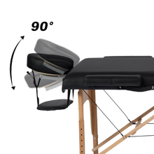 Massage table massage bed spa bed salon bed fold PU massage table portable massage table5