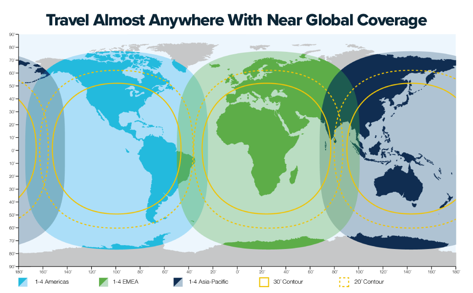 Travel Almost Anywhere With Near Global Satellite Phone Coverage