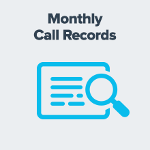 Icon about receiving monthly detailed call records