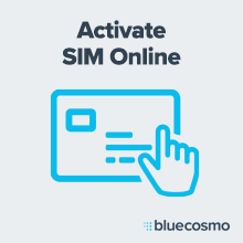 Icon about activating satellite broadband terminal SIM card online