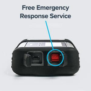 Free emergency response service on your Iridium GO satellite terminal