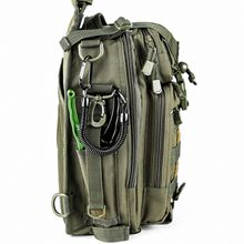 BLISSWILL Outdoor Tackle Bag Multifunctional Water-Resistant Fishing Bag Single Shoulder Bag Crossbody Fishing Backpack Fishing Gear Storage Bag ...