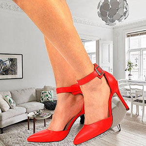 3a020a22a7b High heels can make a woman look more assertive which in turn makes her  feel more confident. Heels draw favorable attention to a woman