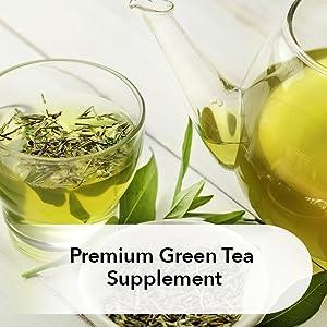premium green tea supplement