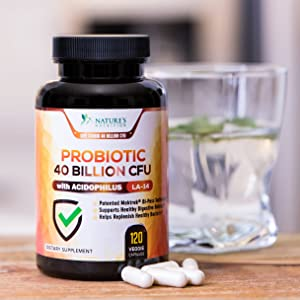 Probiotic 40 Billion CFU
