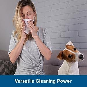 versatile cleaning power