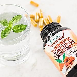 turmeric supplement pills