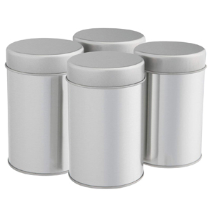 Amazon.com: SilverOnyx - Juego de latas de té con doble tapa ...