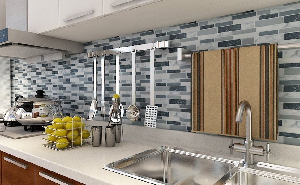 Art3d Peel And Stick Wall Tile For Kitchen Backsplash 12 X12 10 Tiles