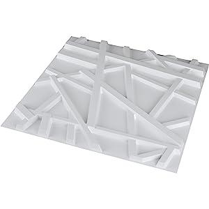 PVC wall panel geometric pattern