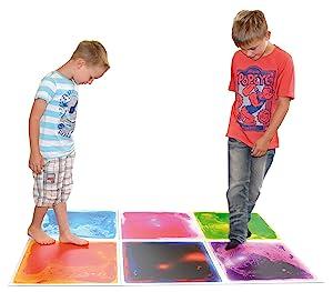 Amazon.com: Art3d Liquid Dance Floor Colorful Home Decor Tile, 12\