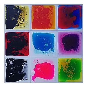Amazon.com: Art3d Liquid Fusion Activity Play Centers for Children ...