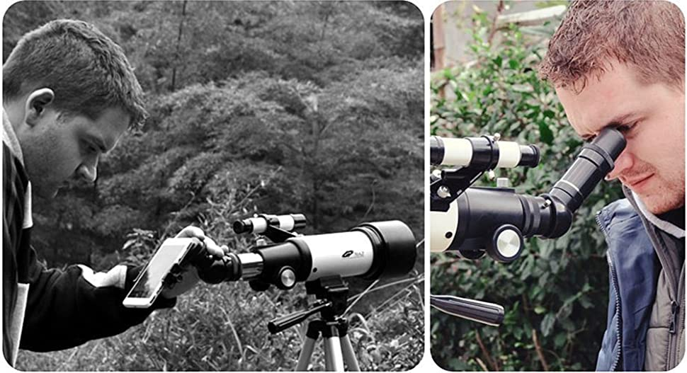 how to use a 70mm telescope