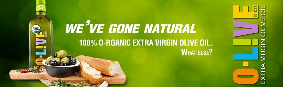 O-Live & Co  - Chilean Extra Virgin Olive Oil (Organic, 33 Fl Oz)