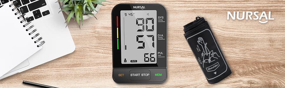 NURSAL arm blood pressure monitor