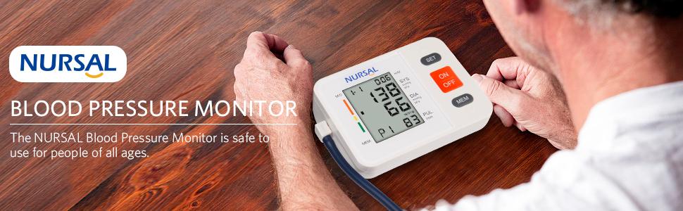 nursal home use large cuff blood pressure monitor