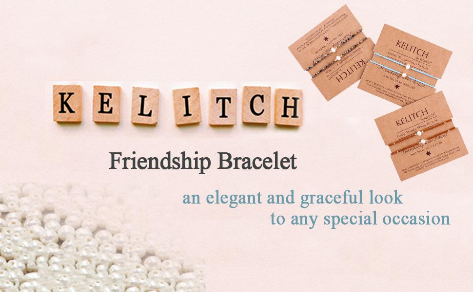 Shell Pearl Friendship Bracelet