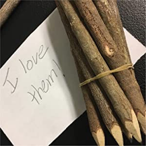 Pre-sharpened Wooden Pencils, Real Wood Pencils, Unique Rustic Wood Pencils For Craft and Writing