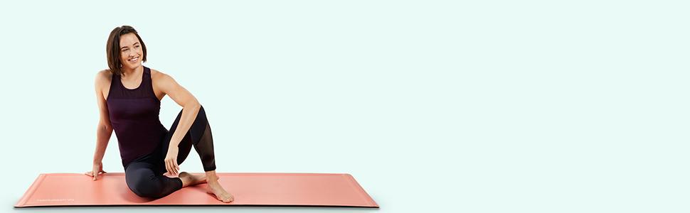 Backslash Fit Smart Yoga Mat