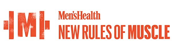 men's health new rules of muscle logo