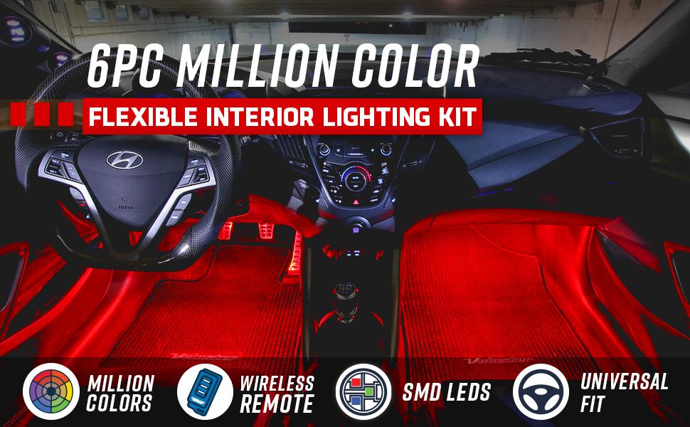 6pc Million Color
