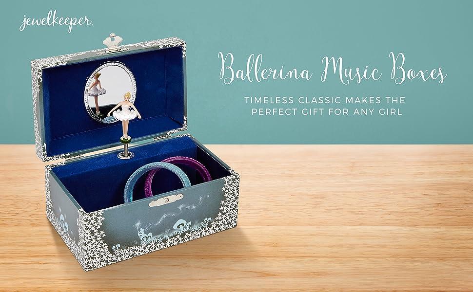 Amazon.com: JewelKeeper Girl's Musical Jewelry Storage Box