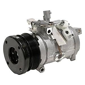 Carquest T68184 Premium AC Compressor with Clutch Fits 2007-2008 Dodge Nitro /& 2006-2008 Jeep Liberty HS18 A//C Compressor OEM 55111400AA