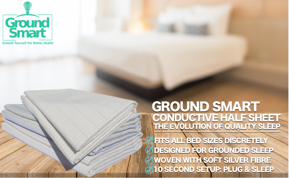 grounded bed sheet