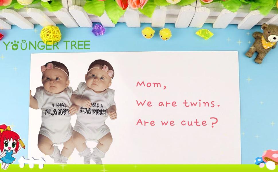 Amazon.com: YOUNGER TREE 2 paquetes de recién nacido bebé ...