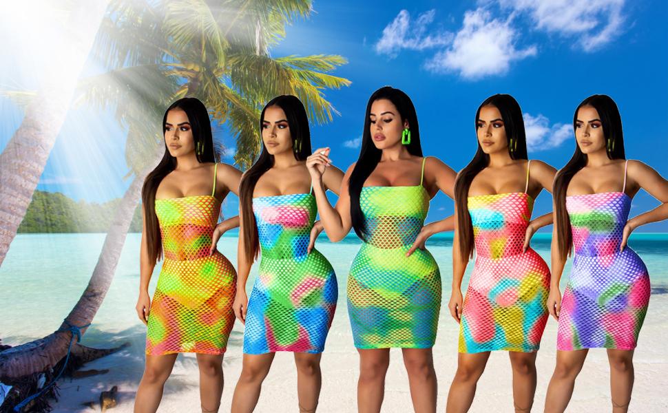 fc9b81504317a sexy bikini cover up,bodycon dress,colorful swimsuit,pool mesh swimwear, beach