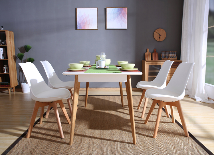 Amazon.com - Set of 4 Modern Accent Side Dining Chair Kitchen Chairs ...