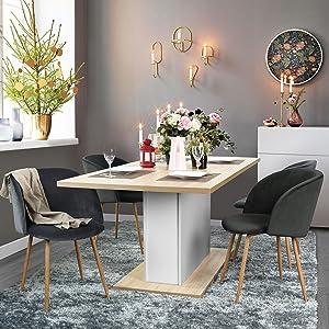 Amazon.com: Modern Velvet Accent Dining Room Armchair Vanity Chair ...