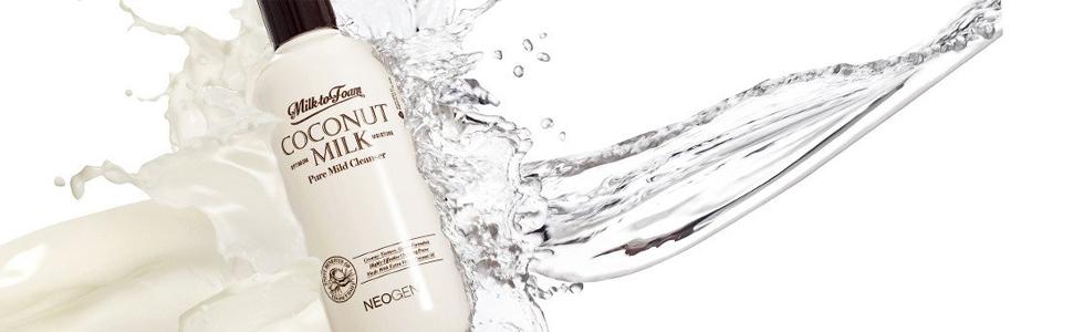 Neogen Milk to Foam Coconut Milk Pure Mild Cleanser 9 9 fl oz 300 ml
