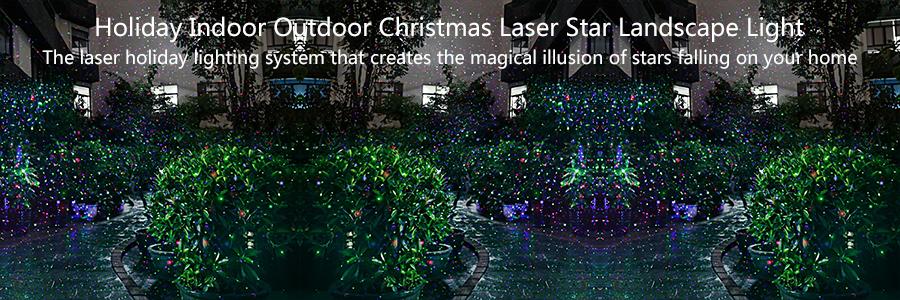 wide lighting cover christmas - Christmas Lawn Lights