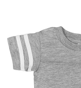 7dbcd07260ef21 Amazon.com  Rabbit Skins Infant Jersey Short Sleeve Football ...
