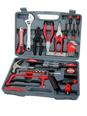 Inside household tool kit