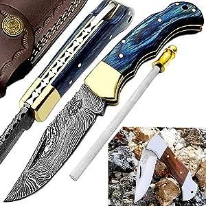 pocket knife , knives, knife, damascus , damascus steel , folding knife, damascus steel knives
