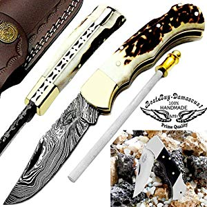 Damascus Steel Knife