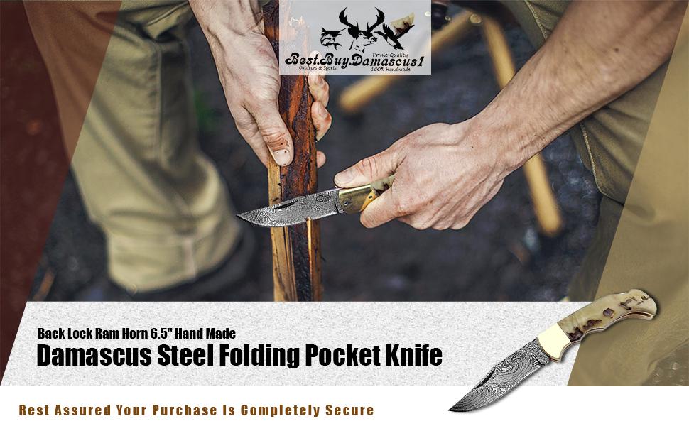Ram Horn pocket knife