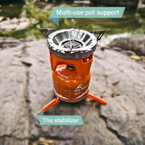 FREE ACCESSORY! POT SUPPORT AND STABILIZER