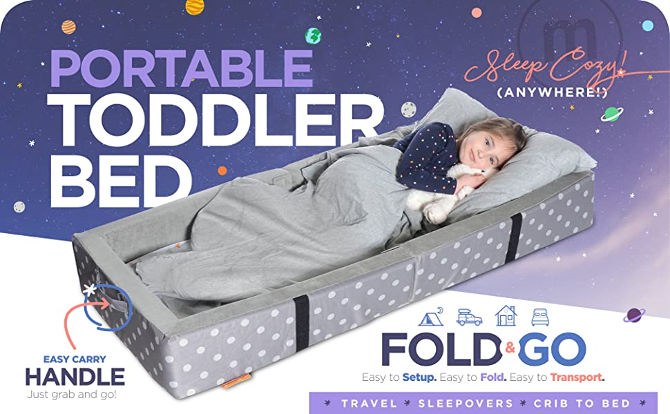 Folding Toddler Bed Bumper Bed Folds Travel Playpen Baby