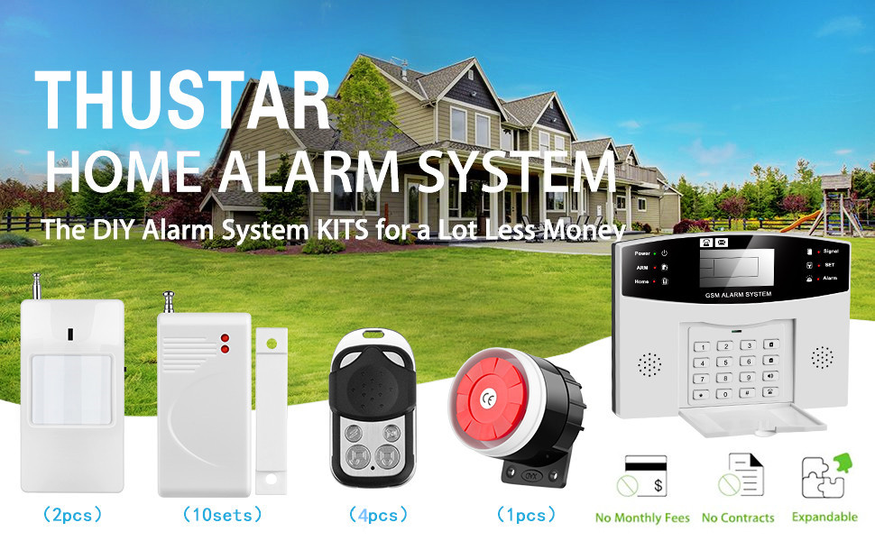 Amazon.com: Sistema de alarma para el hogar.: Home Improvement