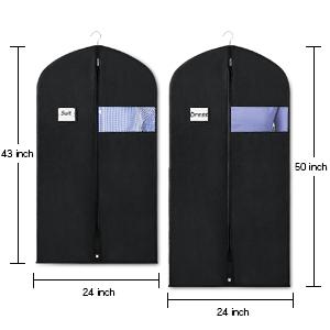 suit bag for closet