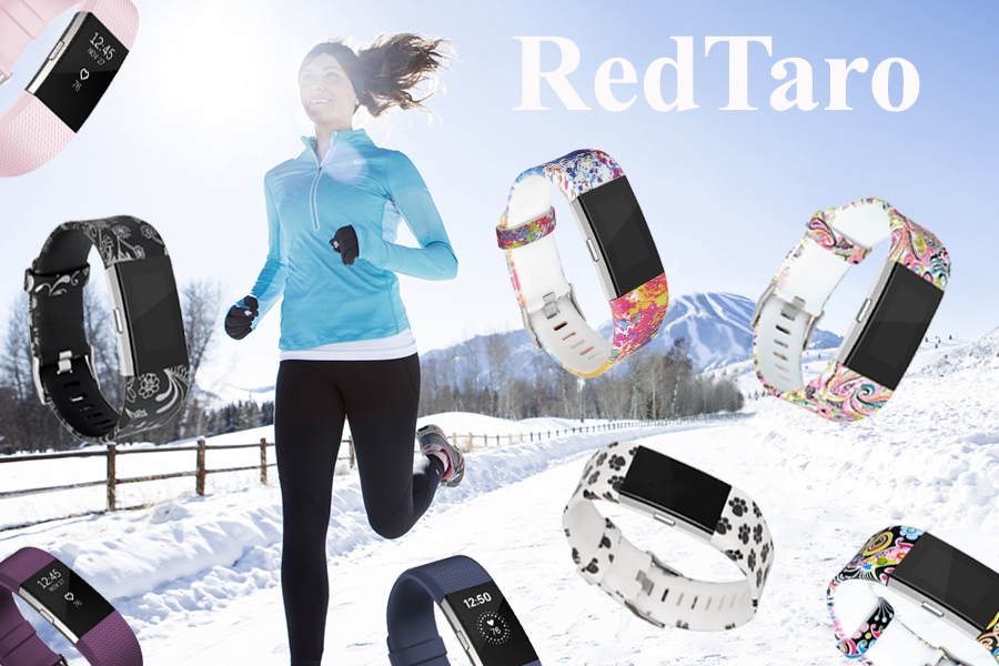 RedTaro Replacement Bands for Fitbit Charge 2 Classic Special Edition Sport Wristbands for Women Men