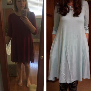 long sleeves dresses