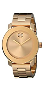 Movado Women's 3600085 Bold Gold-Tone Watch